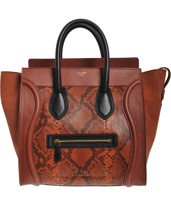 celine+luggage+Rust+python