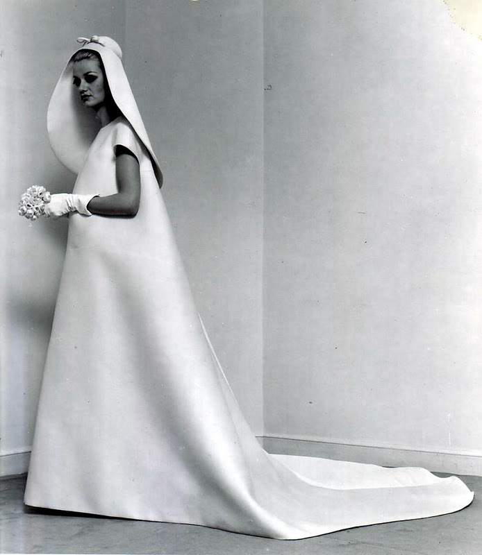 1967 wedding dress, Balenciaga (2)