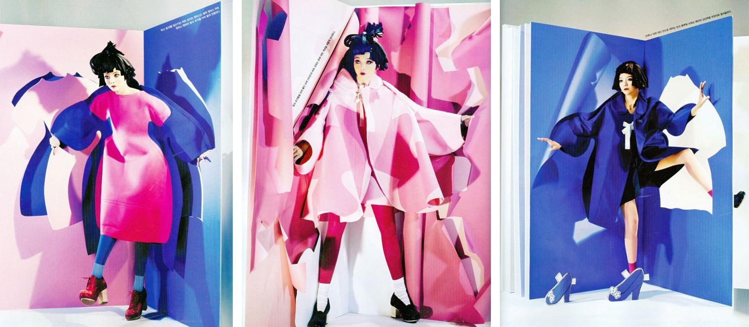Comme des Garçons Paper Doll coats FW12 | The Rosenrot | For The Love of Avant-Garde Fashion