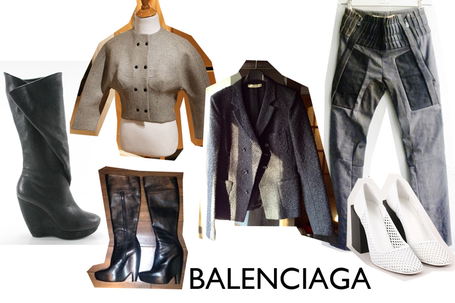 Shopping for Balenciaga via The Rosenrot | For The Love of Avant Garde Fashion