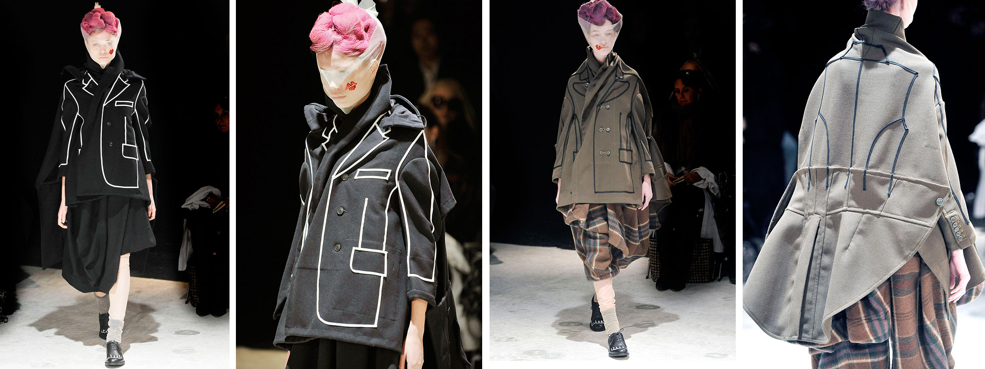 Comme des Garçons via The Rosenrot | For The Love of Avant-Garde Fashion