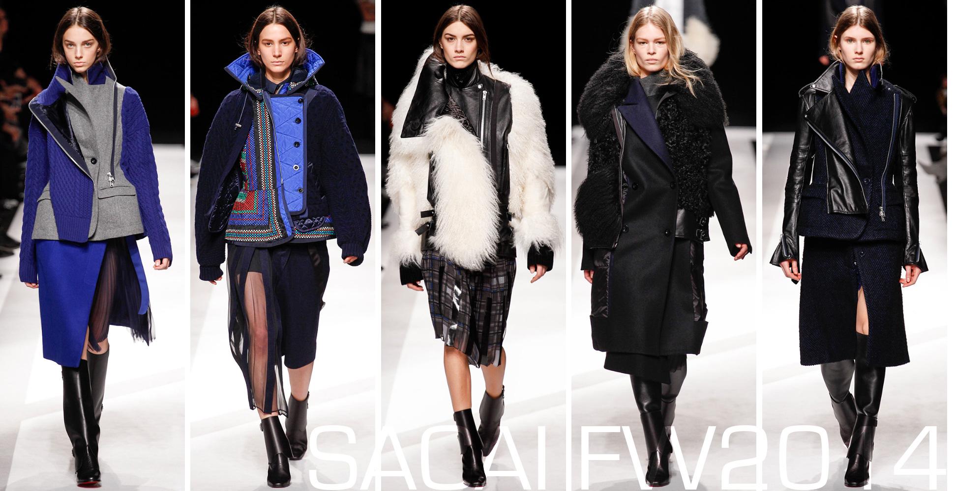 Sacai via The Rosenrot | For The Love of Avant-Garde Fashion