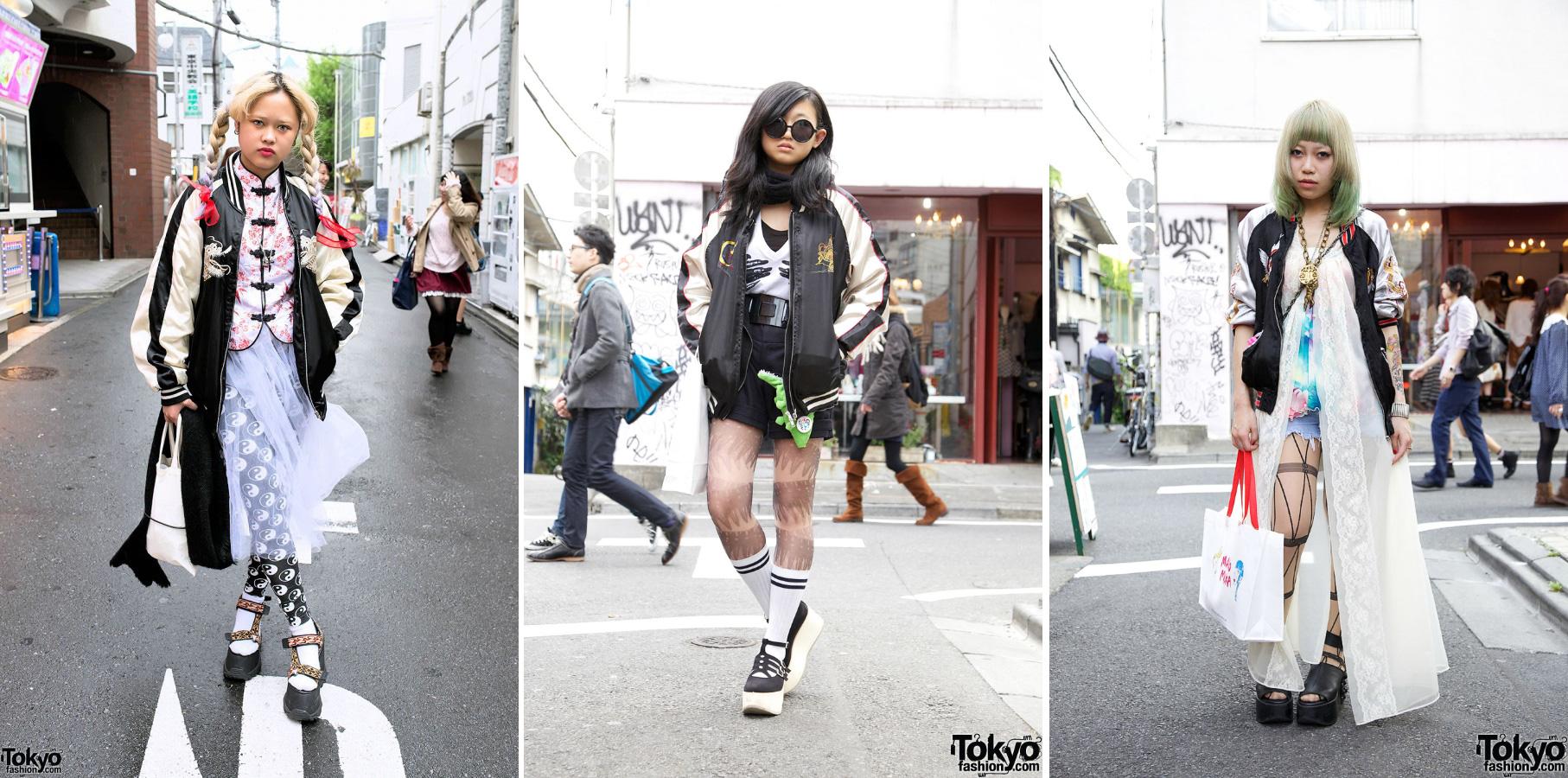 Japan street style sukajan