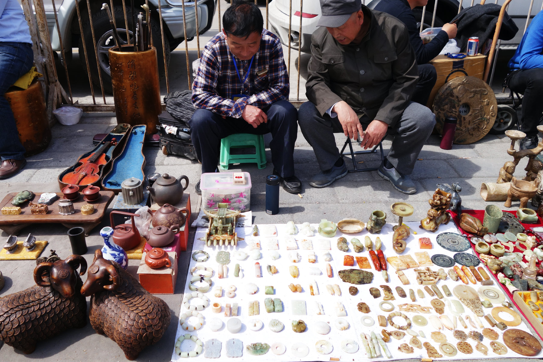 Antique Market Beijing
