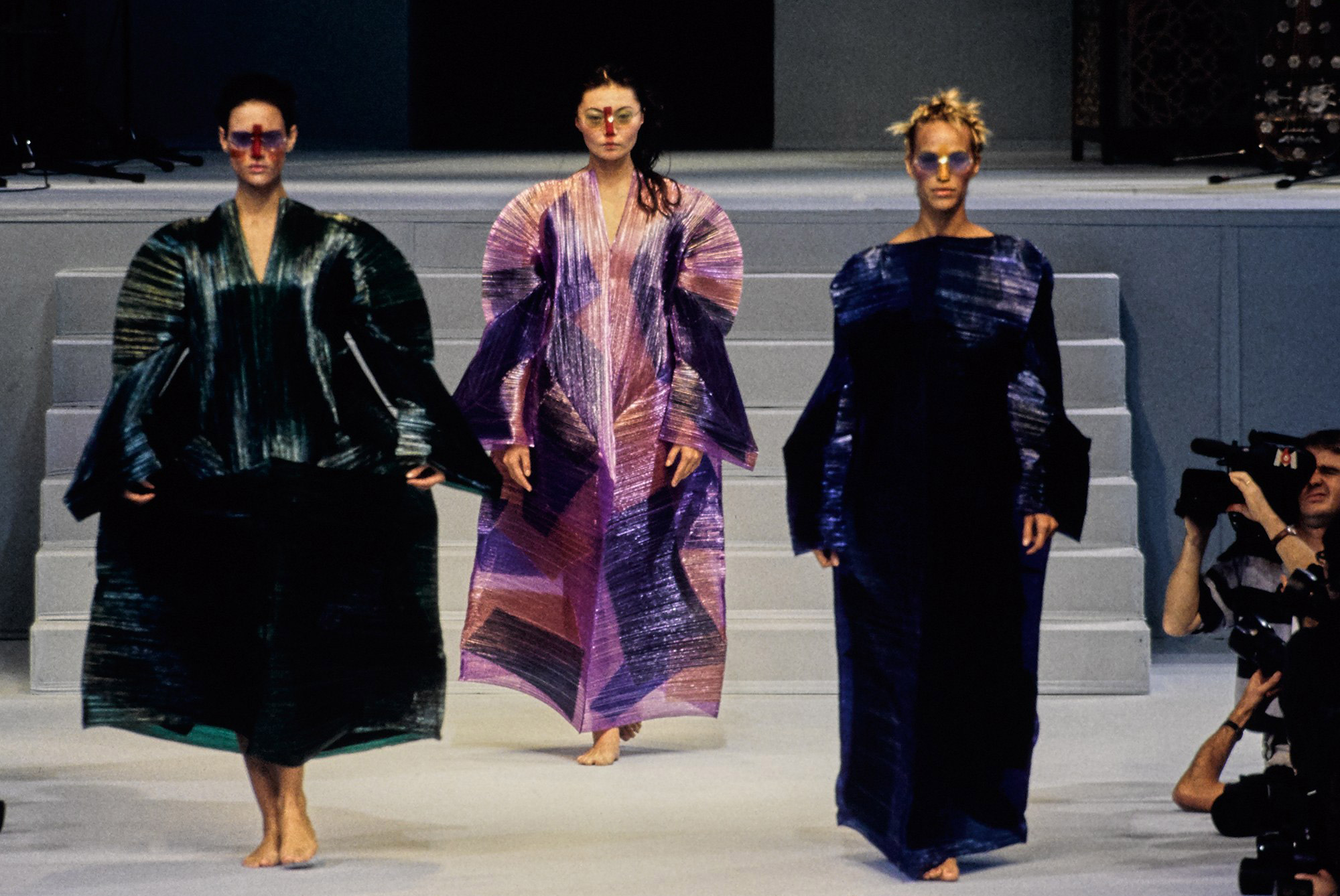 Issey Miyake Pleats Please Fashion Show