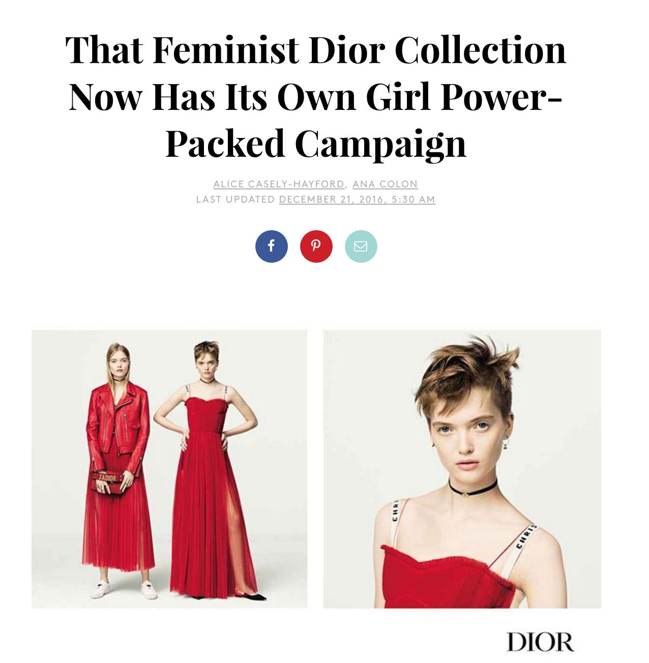 Dior Campaign SS17