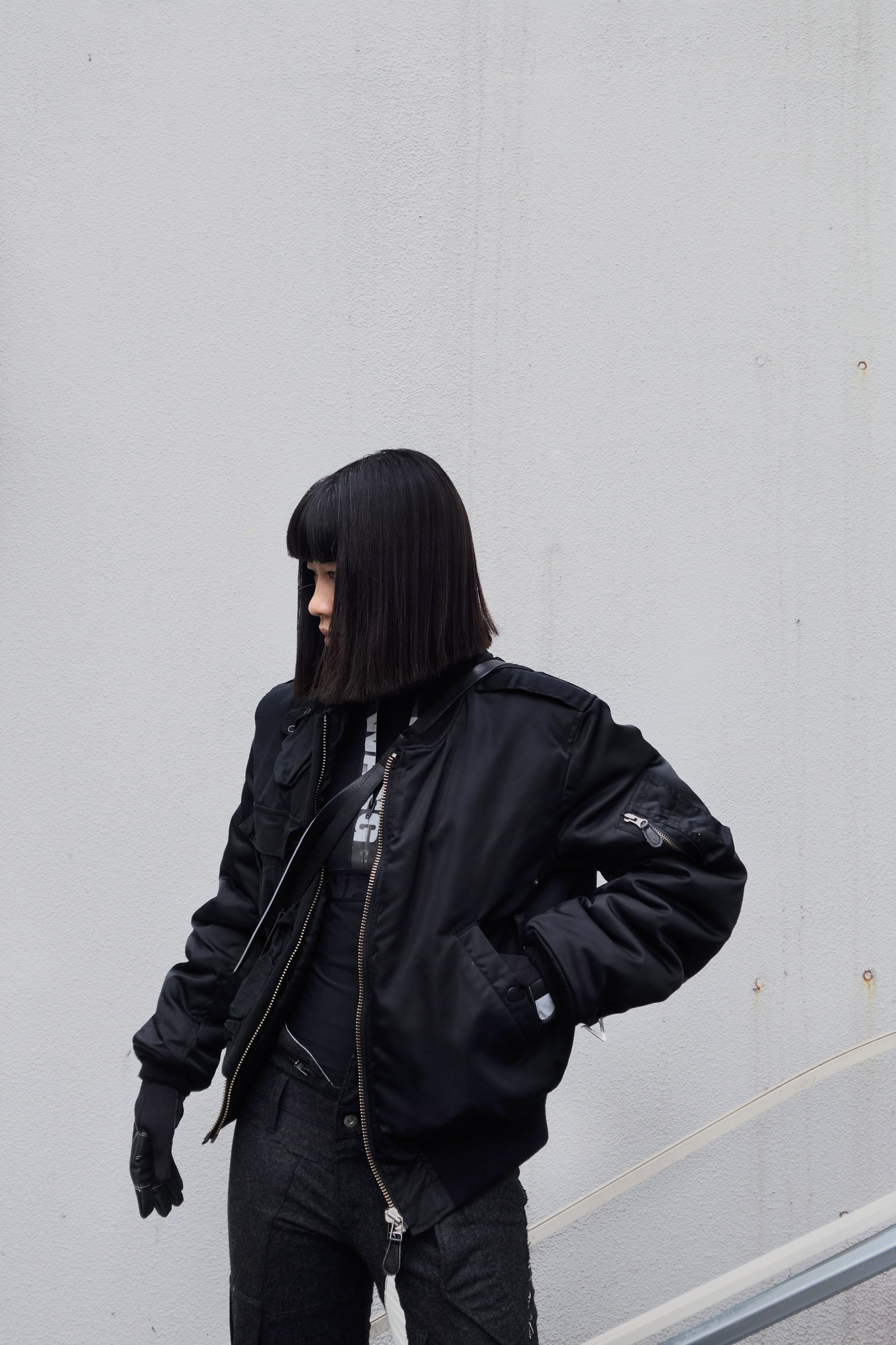 Vandalize Undercover Bomber Jacket
