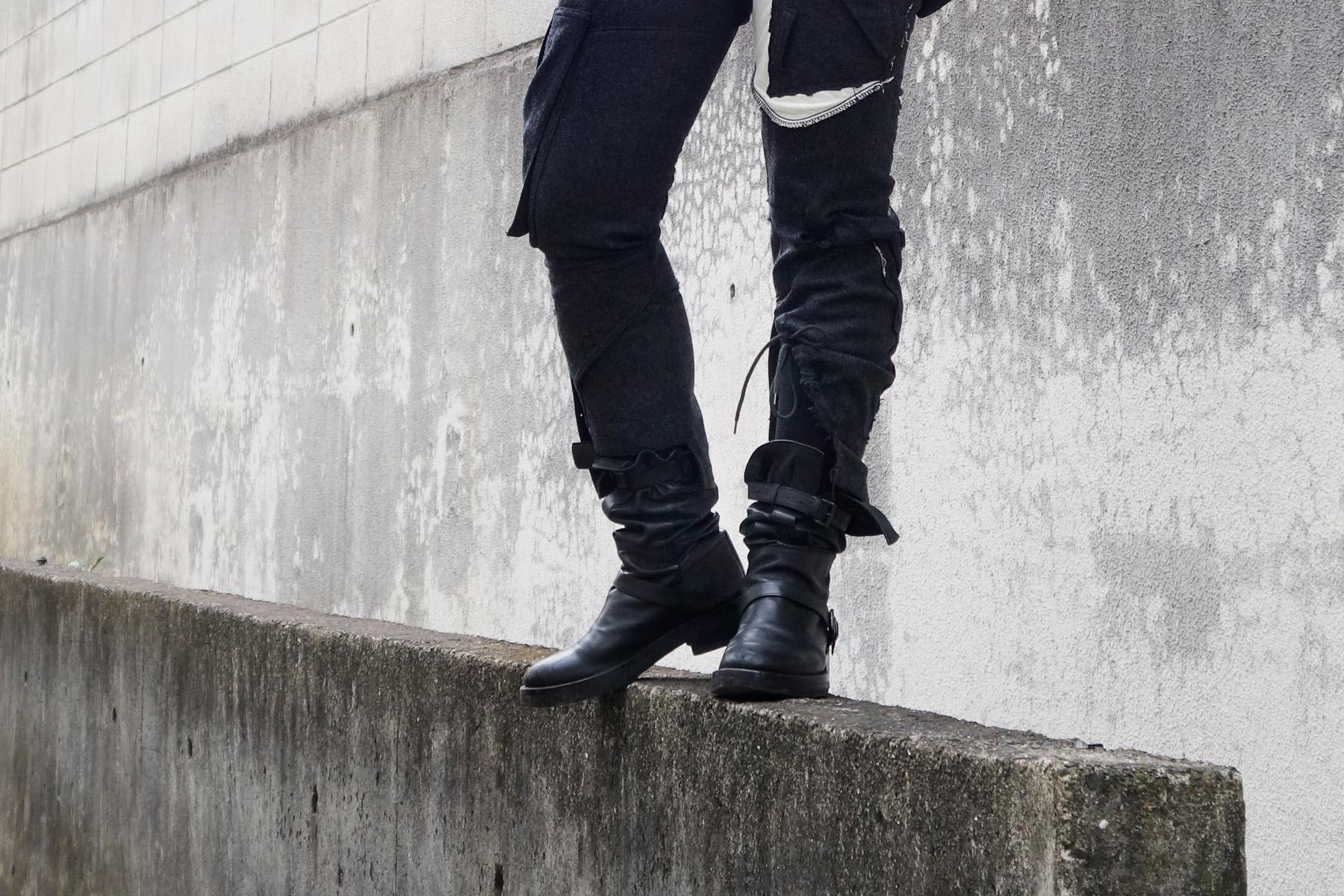 Junya Watanabe Ann Demeulemeester Triple Buckle Boots