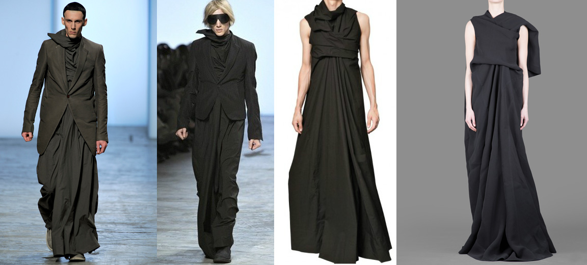 Rick Owens gown