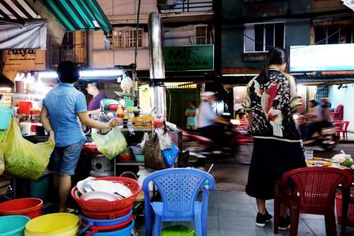 Rosenrot in sukajan in Saigon