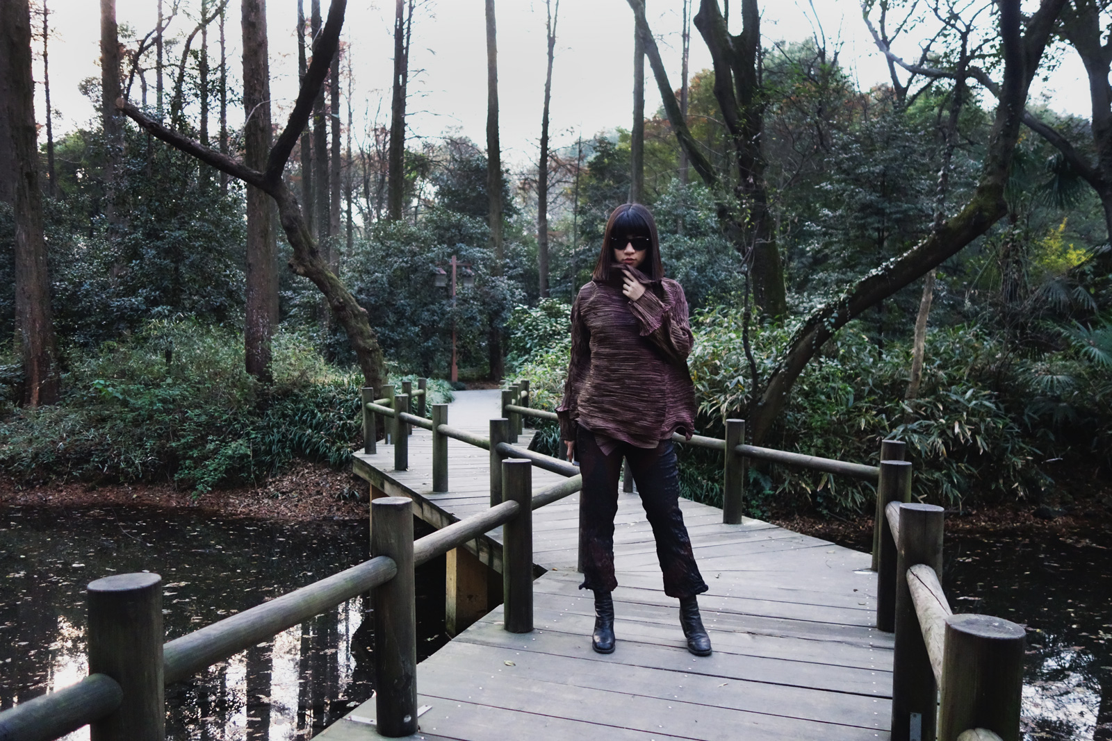 Issey Miyake Beetle Jacket in Hangzhou