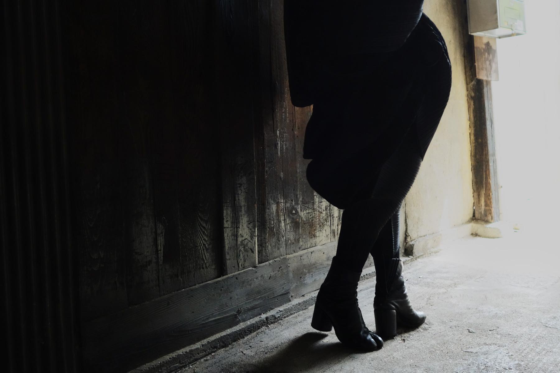 Issey Miyake Madame T Margiela Tabi Boots