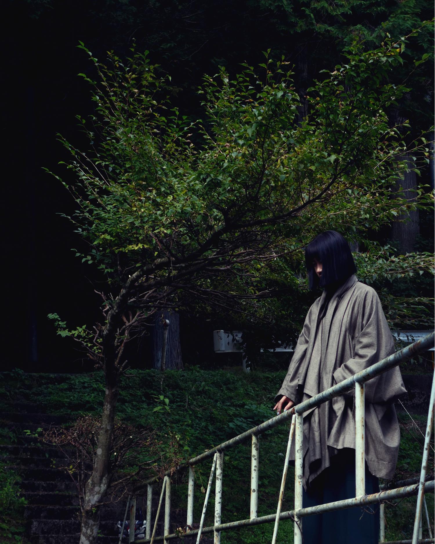 ROSEN Coat-Kurokawa